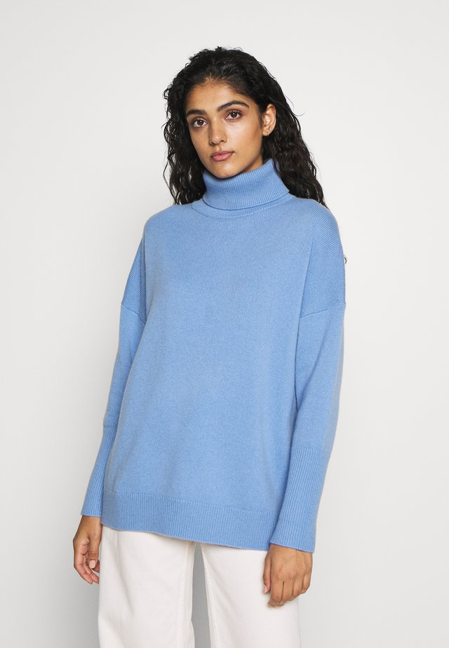 THE RELAXED - Strikpullover /Striktrøjer - sky blue