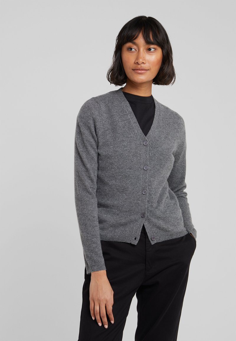 CHINTI & PARKER - THE CARDI - Strikjakke /Cardigans - grey