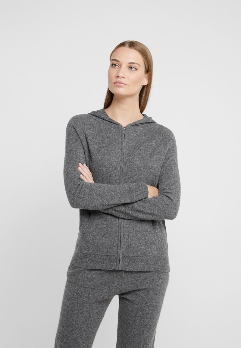 CHINTI & PARKER - THE HOODIE - Strickjacke - grey