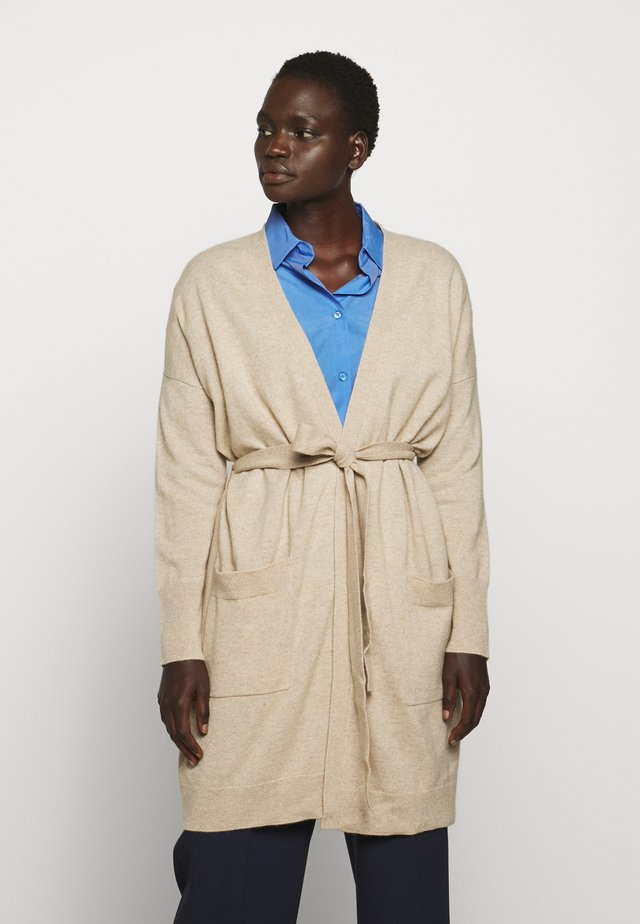 THE DUSTER CARDIGAN - Kardigan - oatmeal