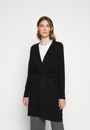 THE DUSTER CARDIGAN - Vest - black
