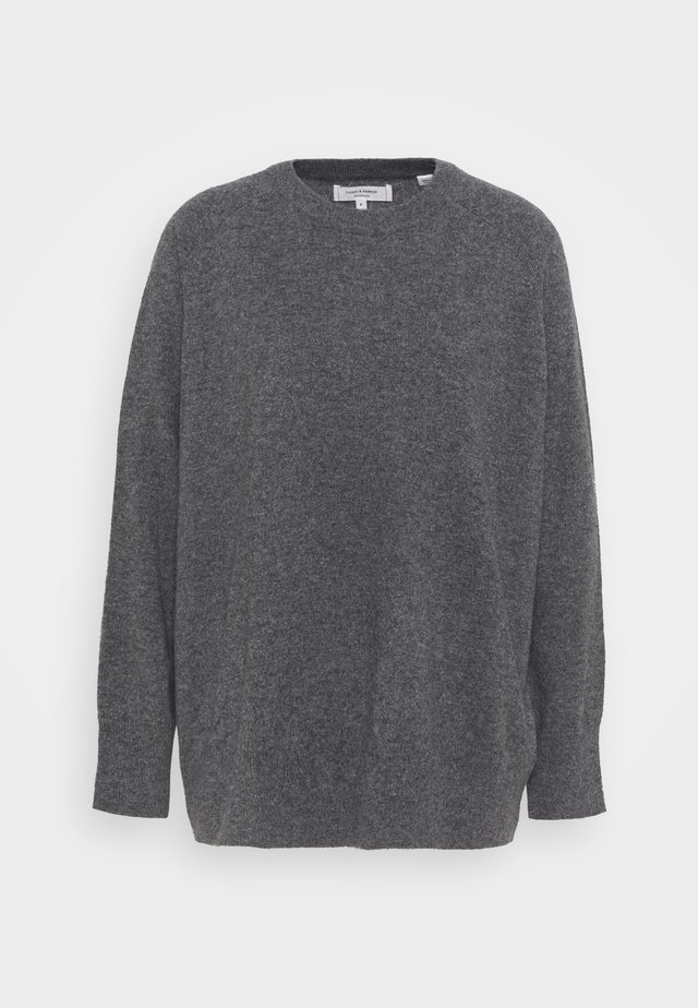 THE SLOUCHY - Stickad tröja - grey