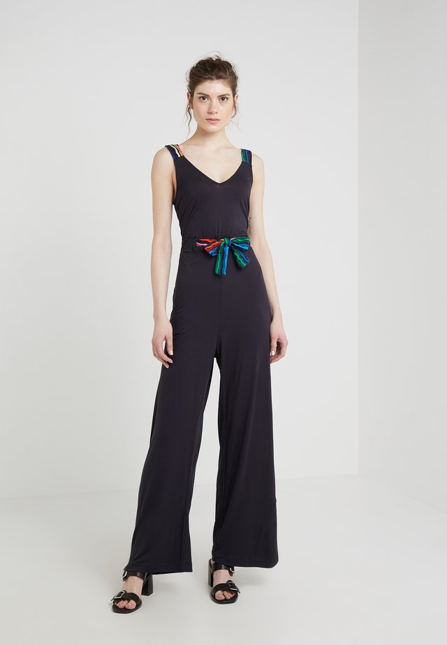 RAINBOW BELT  - Tuta jumpsuit - navy