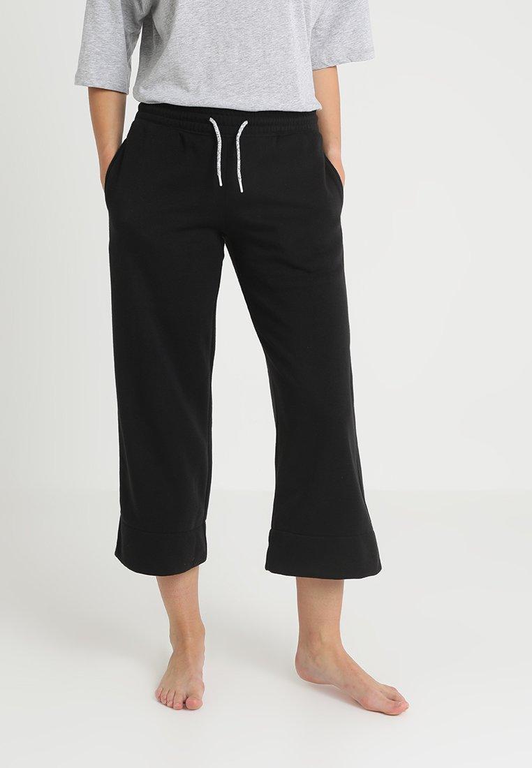 Chalmers - VADA PANT - Pyjama bottoms - black polish