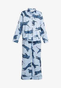 Chalmers - SUZIE SET - Pyžamová sada - tiger dusty blue - 4