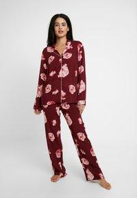 Chalmers - MIA SET - Pyjama set - poppy pink - 0