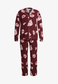 Chalmers - MIA SET - Pyjama set - poppy pink - 4