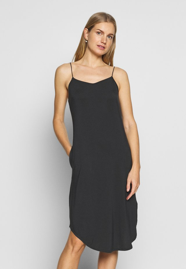 LYKKE DRESS - Nightie - graphite