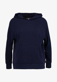 Chalmers - RHONE HOODIE - Pyjamasöverdel - dark blue - 4