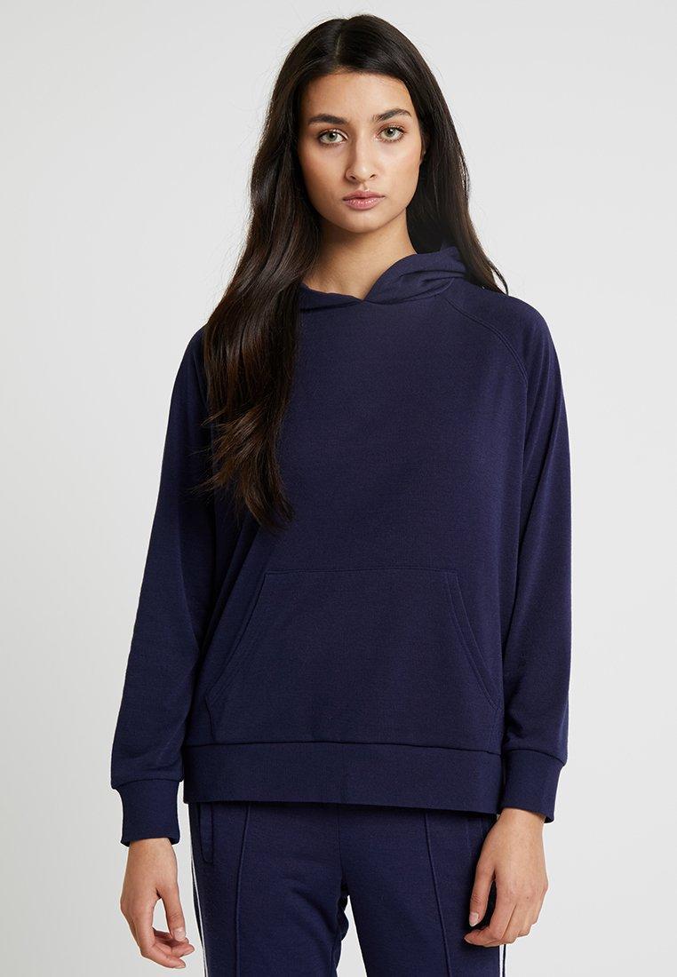Chalmers - RHONE HOODIE - Pyjama top - dark blue