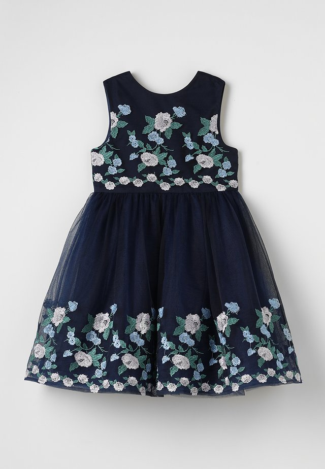 CLAIRE DRESS - Cocktailjurk - navy