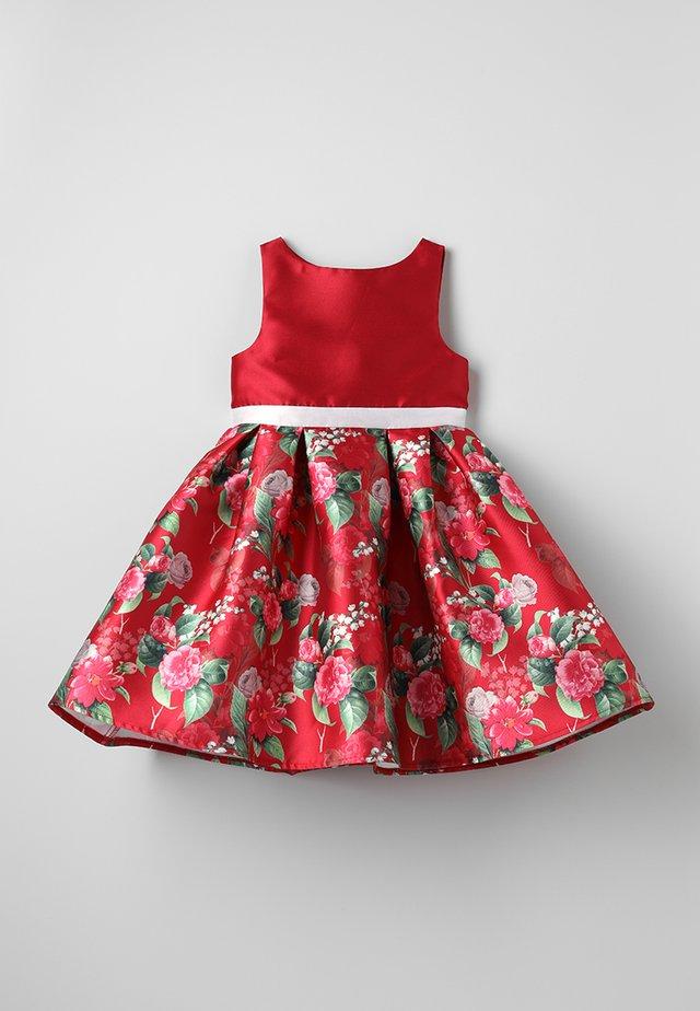 GIRLS YULIANA DRESS - Cocktailkleid/festliches Kleid - red