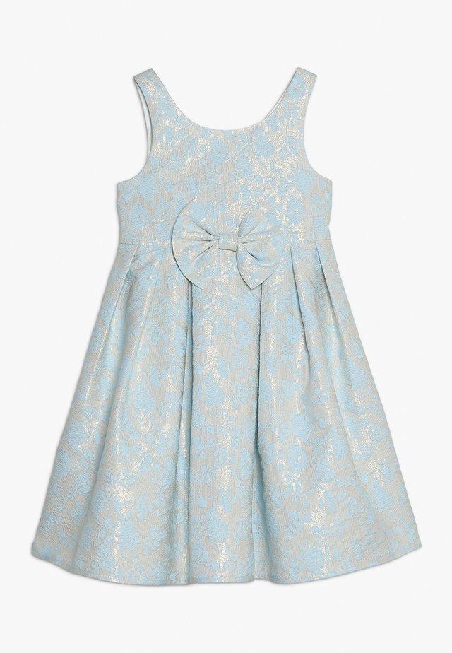 BELLINA DRESS - Cocktailklänning - beige/blue