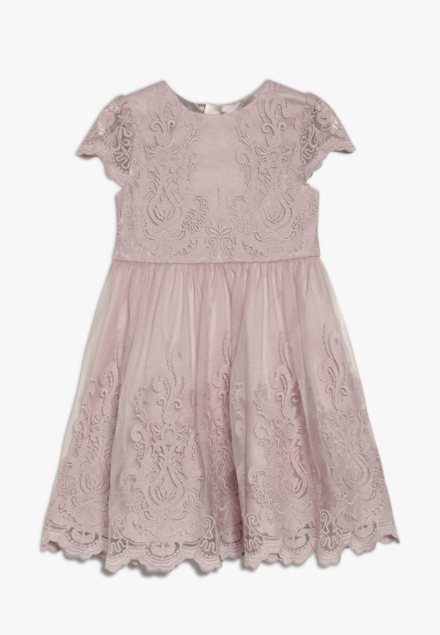 GIRLS LIVIAH DRESS - Juhlamekko - mink
