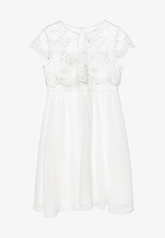 LONDON TASHY DRESS - Cocktailjurk - white