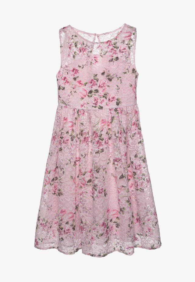 LONDON CLOVER DRESS - Cocktailjurk - pink