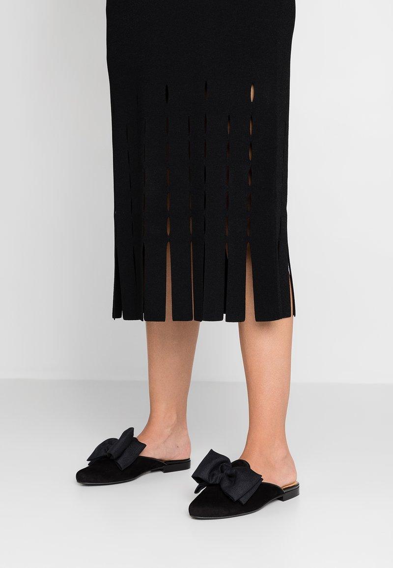 Chatelles - MULES FRANÇOIS - Pantofle - black