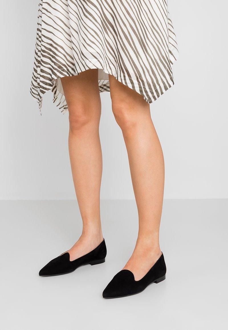 Chatelles - FRANÇOIS POINTY - Nazouvací boty - black
