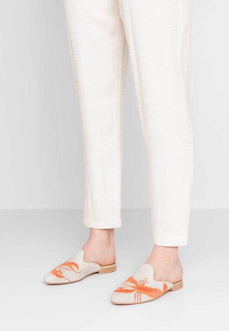Chatelles - HOMARD MULES - Pantolette flach - beige