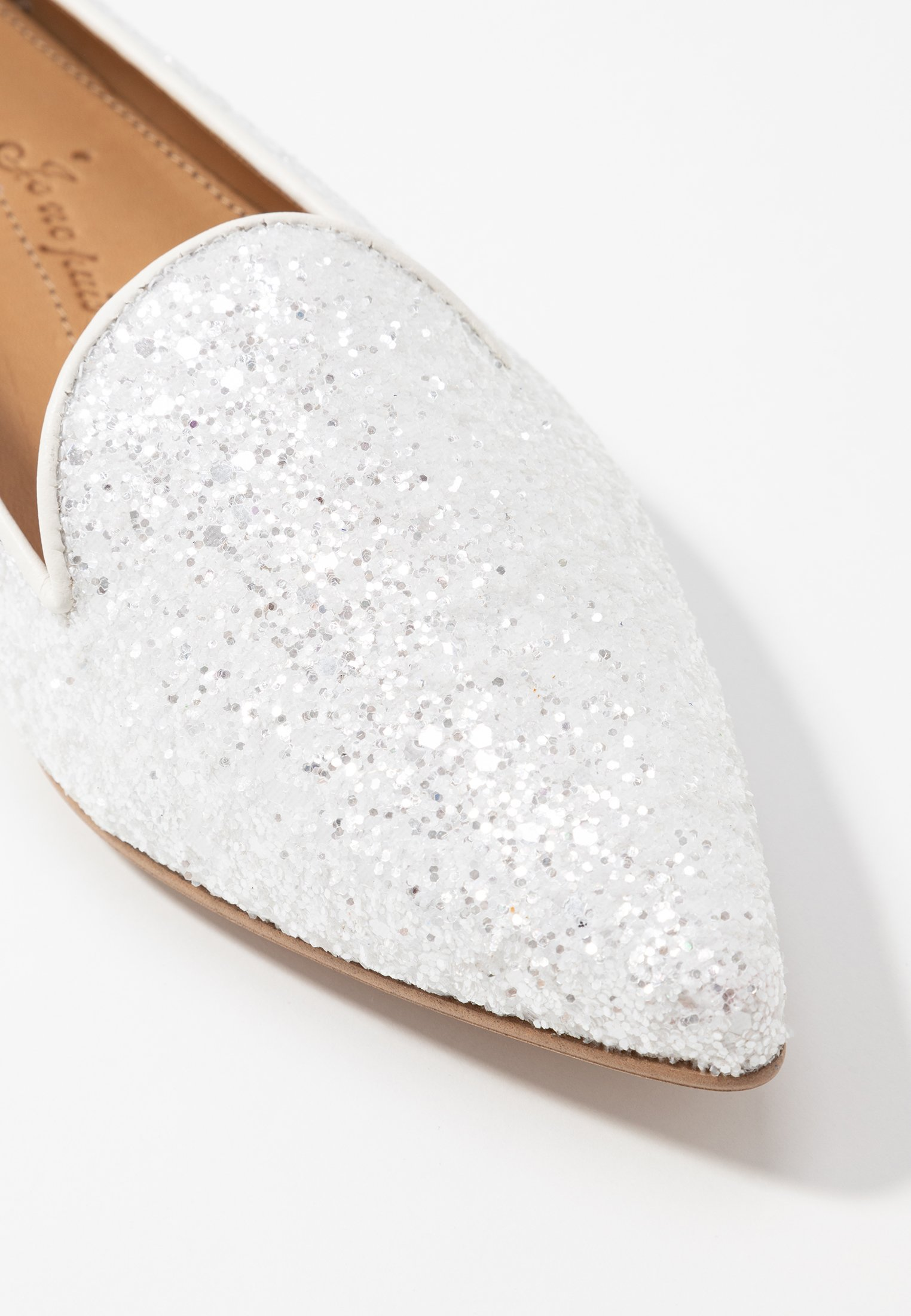 POINTYMocassins ANATOLE POINTYMocassins ANATOLE cream glitters Chatelles Chatelles zMVUpGqS