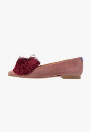 CANDIDE POINTY - Nazouvací boty - vintage pink/bordeaux