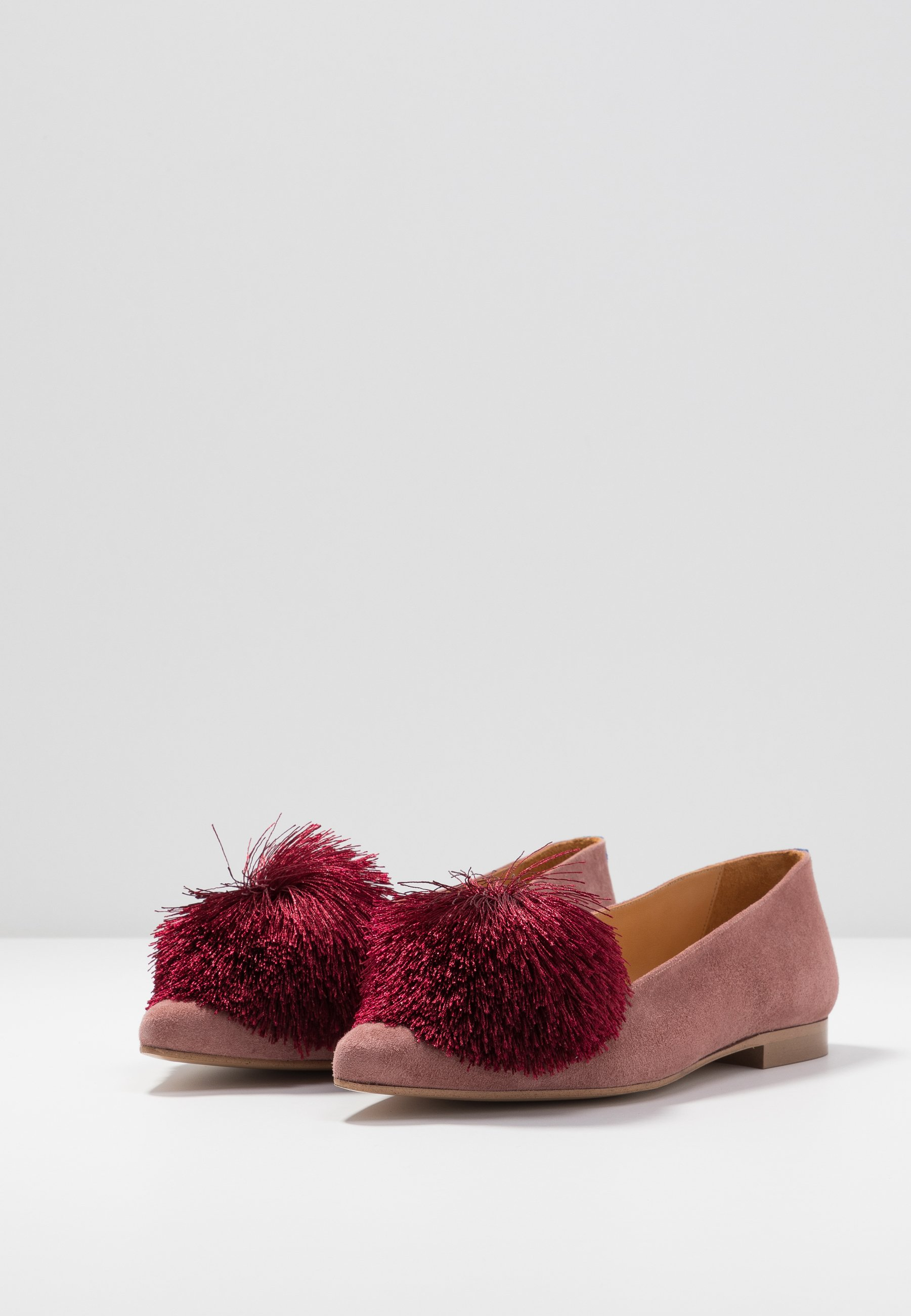 Chatelles CANDIDE POINTY - Slip-ons - vintage pink/bordeaux