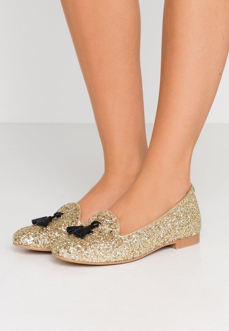 Chatelles - SEVIL - Slip-ons - light gold glitters