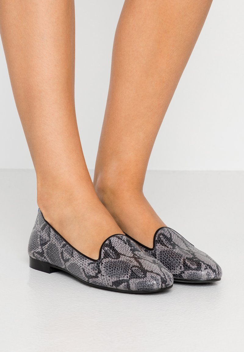 Chatelles - CLASSIC - Slip-ons - grey