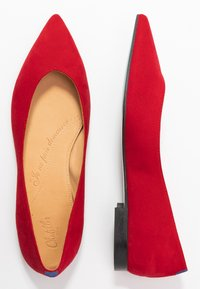 Chatelles - AMEDEE POINTY - Baleríny - red - 3
