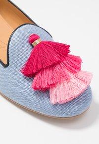 Chatelles - AUGUSTE - Nazouvací boty - light blue/pink - 2