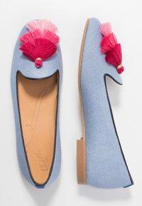 Chatelles - AUGUSTE - Nazouvací boty - light blue/pink - 3