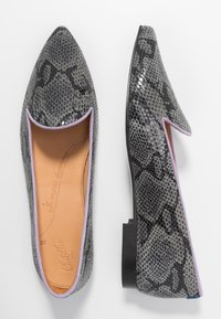 Chatelles - MELCHIOR POINTY - Loafers - grey/lilac - 3
