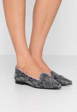 MELCHIOR POINTY - Nazouvací boty - grey/lilac