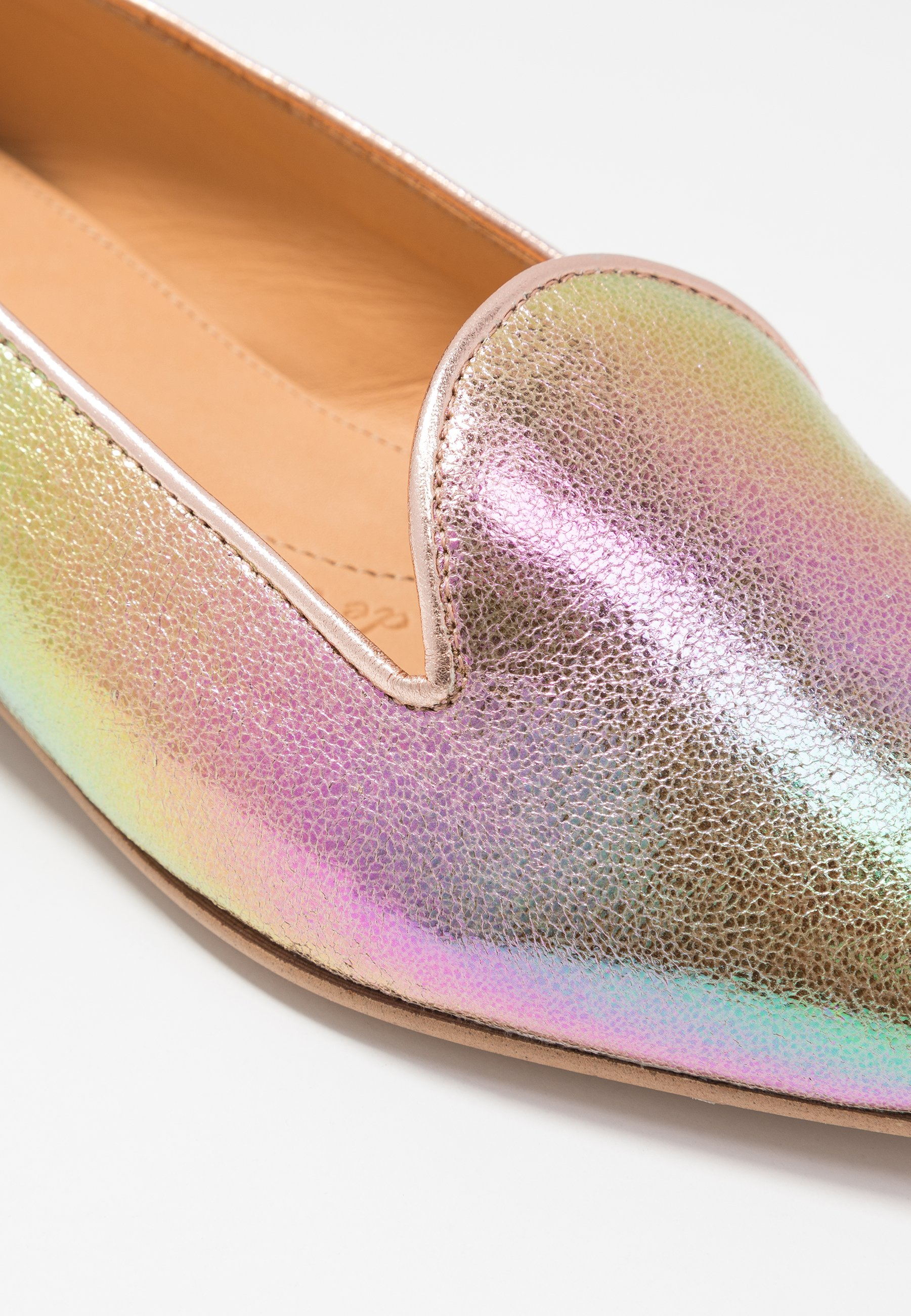 Chatelles FRANÇOIS POINTY - Slippers - rainbow metallic/rose gold