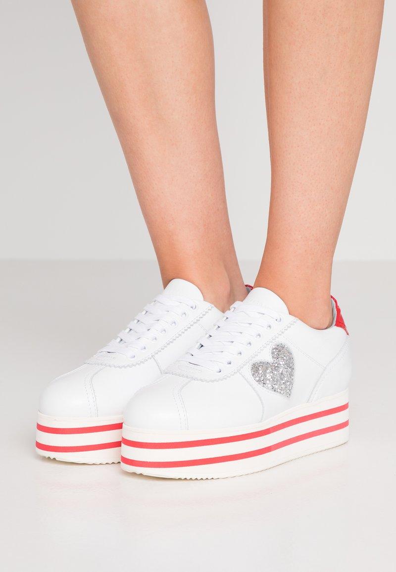 CHIARA FERRAGNI - ROW  - Sneaker low - white/red