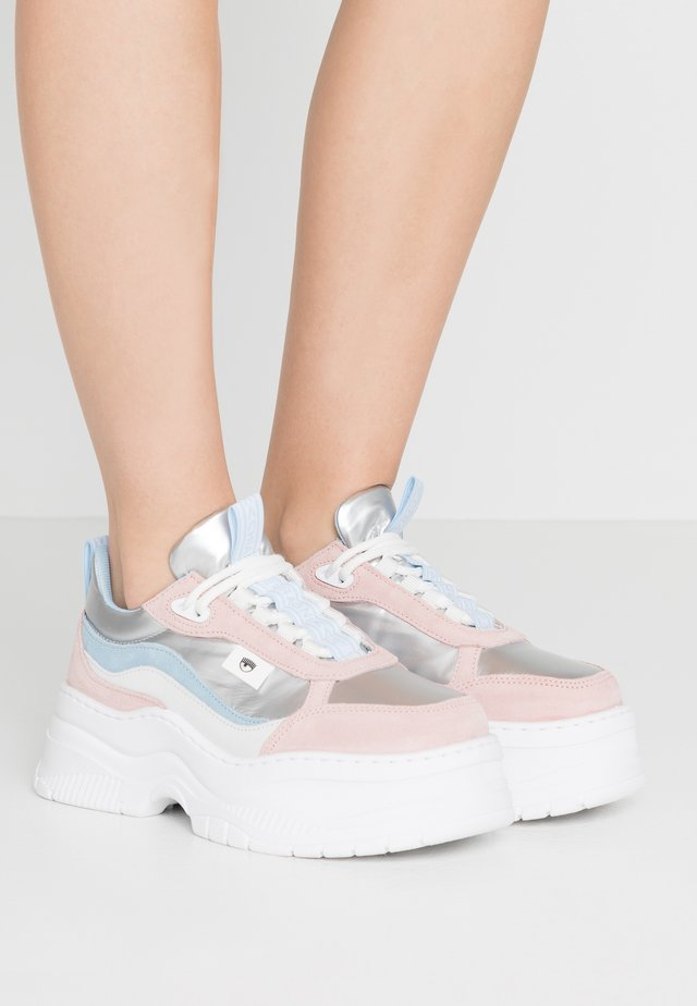 ARMY - Sneakers - pastel/silver