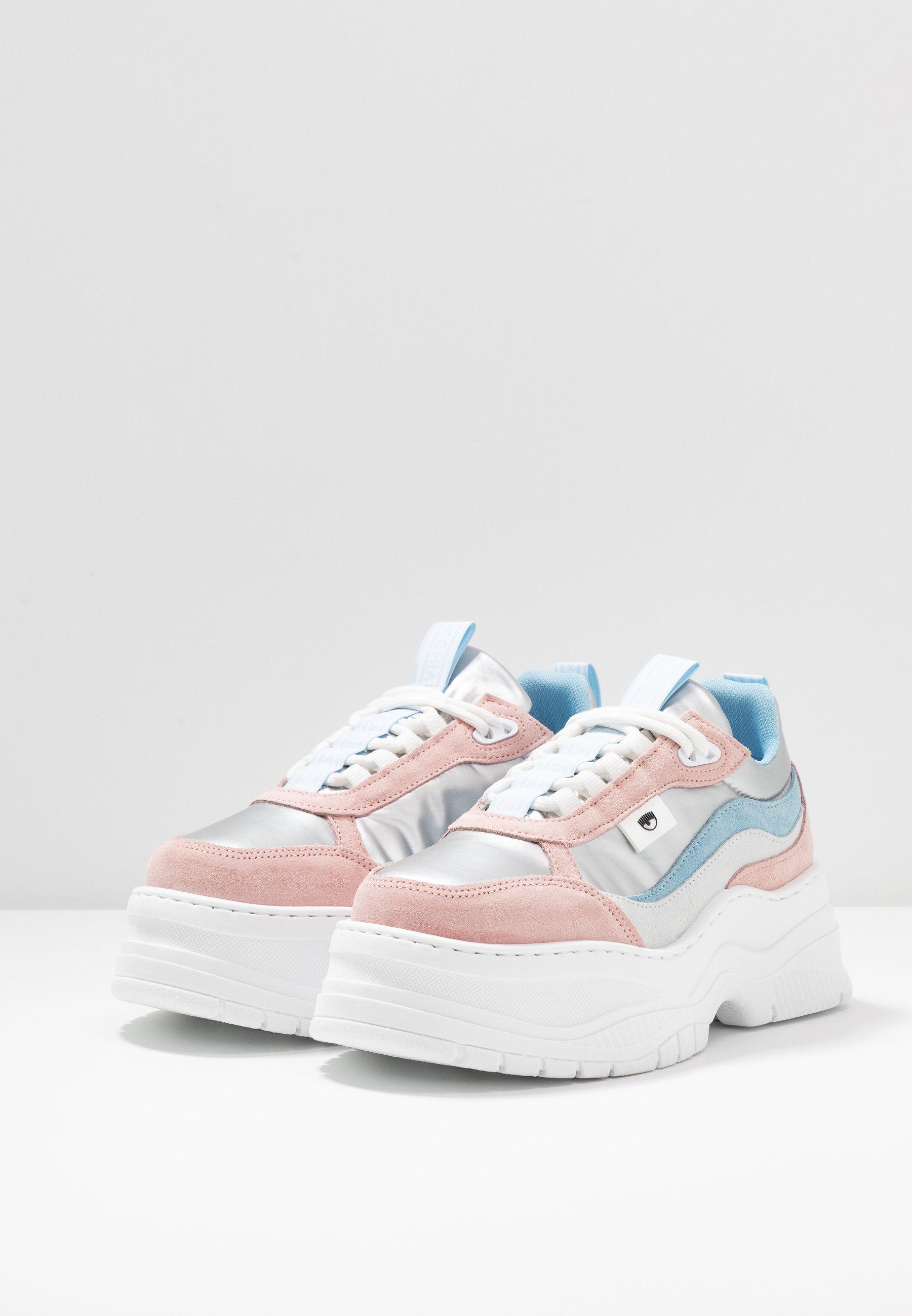 CHIARA FERRAGNI ARMY - Sneakers - pastel/silver