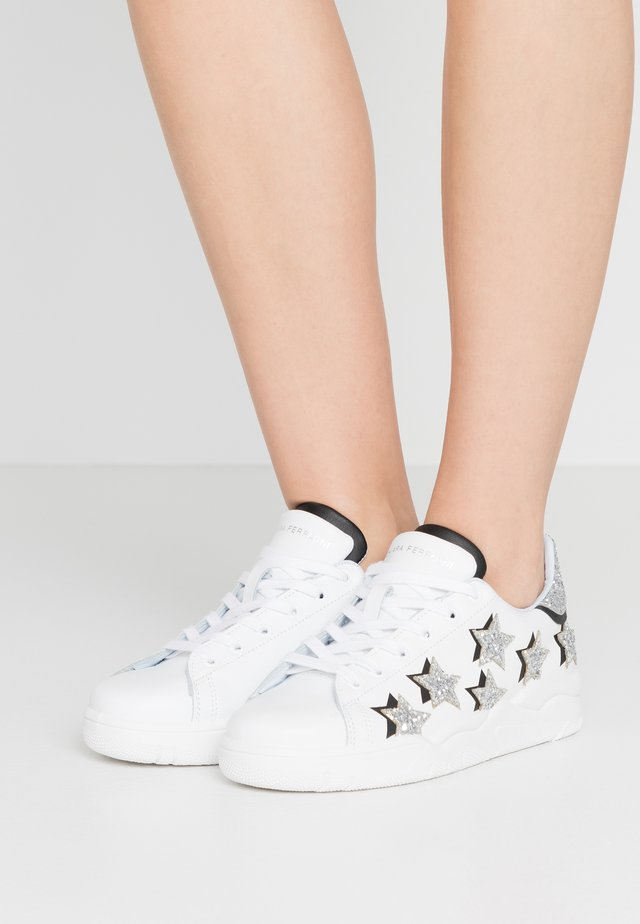 ROGER - Sneakers - white/silver/black