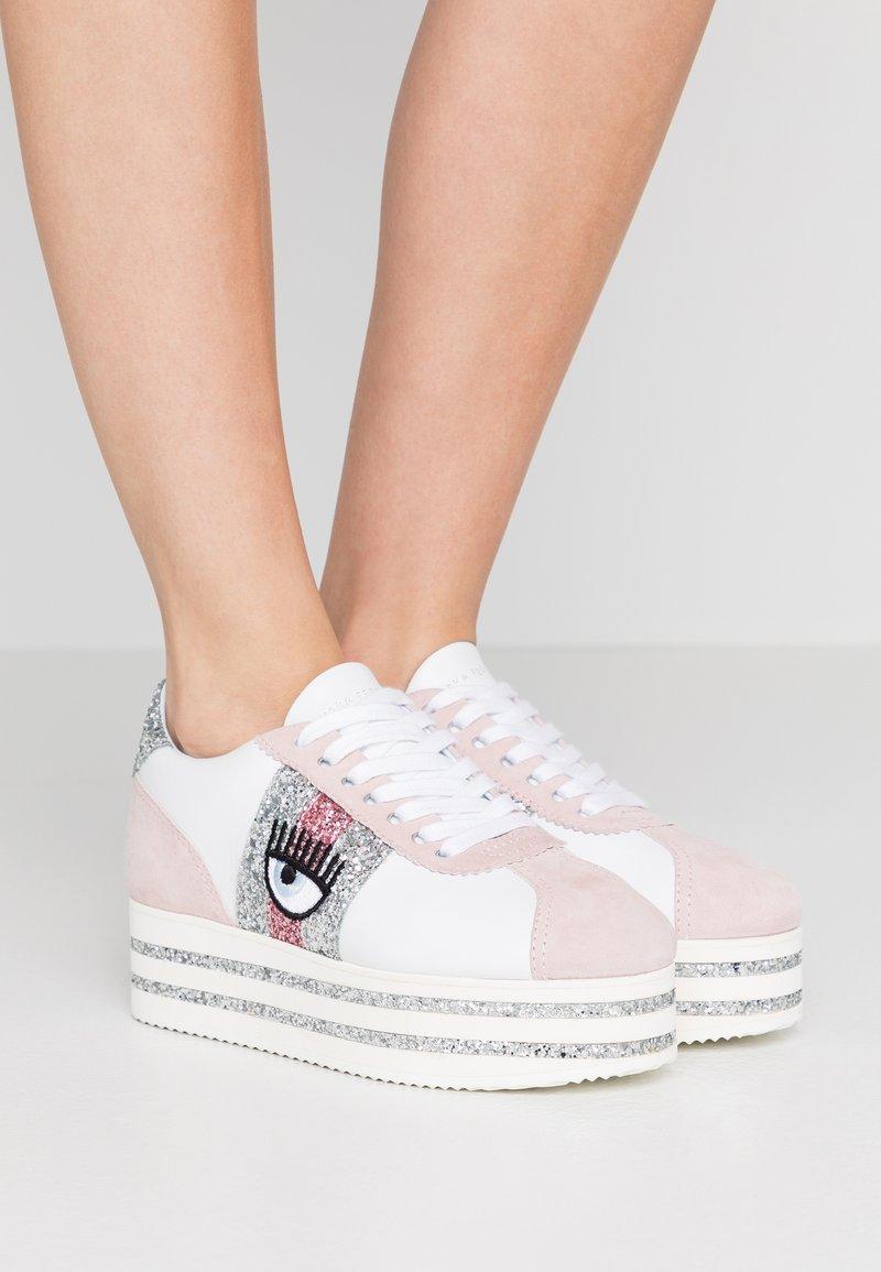 CHIARA FERRAGNI - PLAT FORM - Tenisky - pink