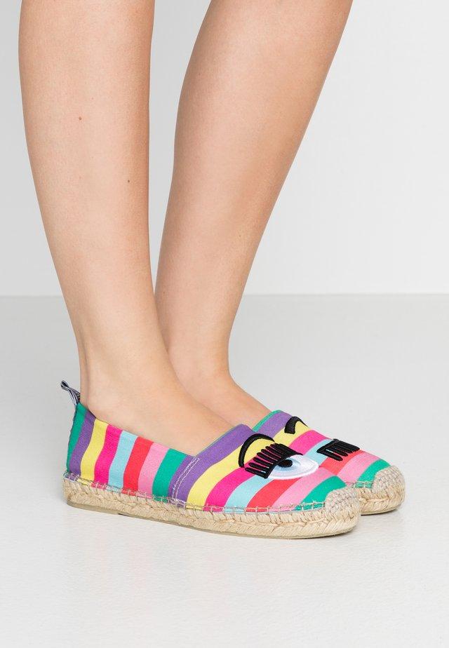 Espadrille - multicolor
