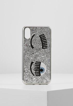 COVER FLIRTING GLITTER - Etui na telefon - silver