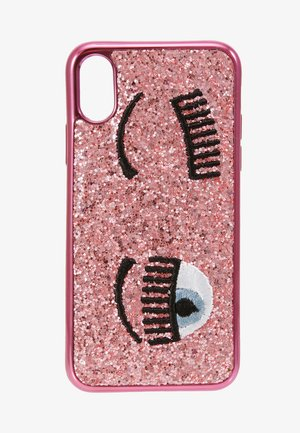 COVER FLIRTING GLITTER - Étui à portable - pink