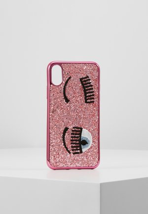COVER FLIRTING GLITTER - Mobiltasker - pink