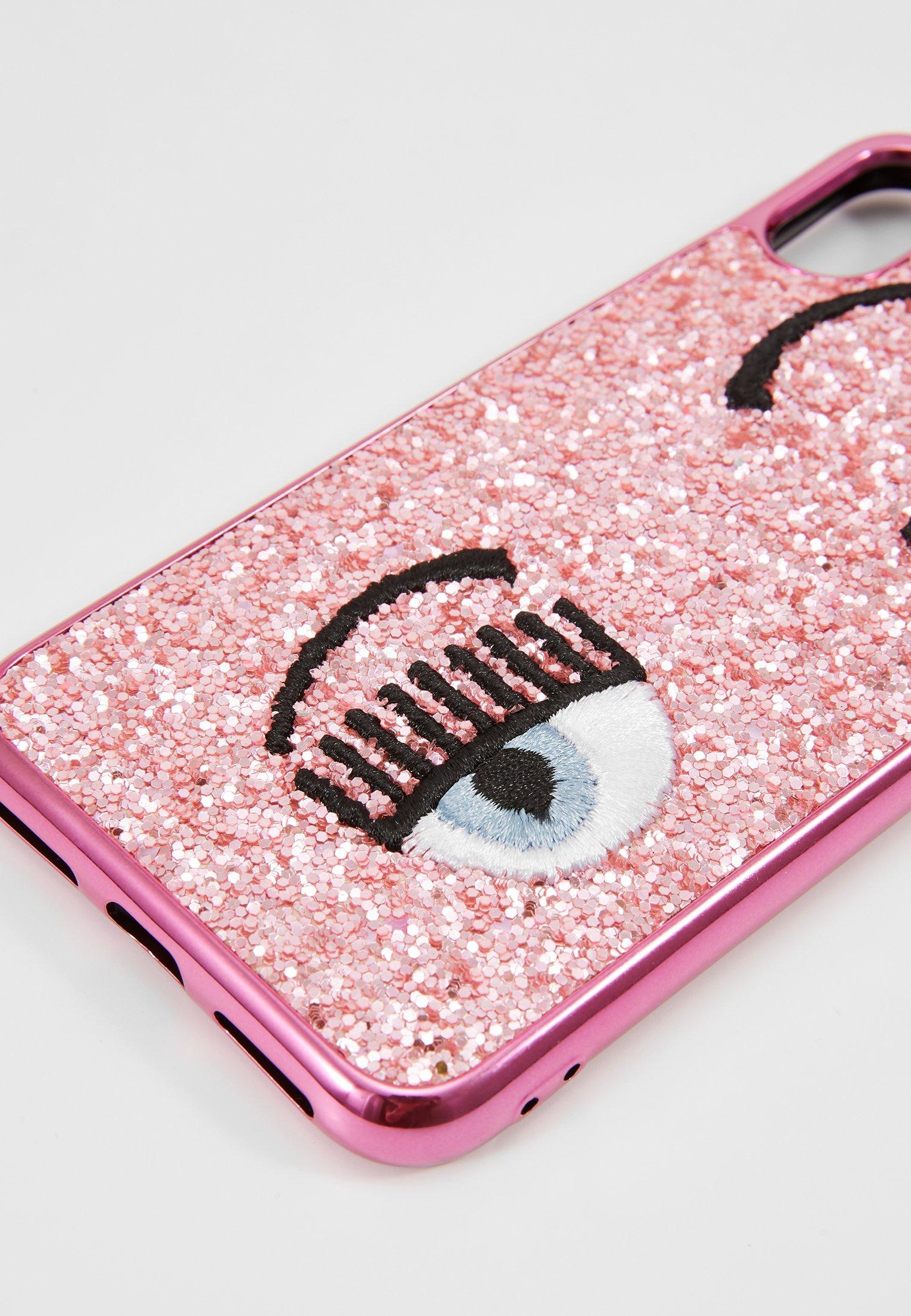Chiara Cover À Portable Flirting Pink GlitterÉtui Ferragni OP0kwn