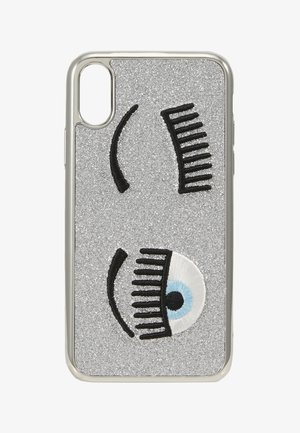 FLIRTING GLITTER COVER IPHONE - Phone case - silver