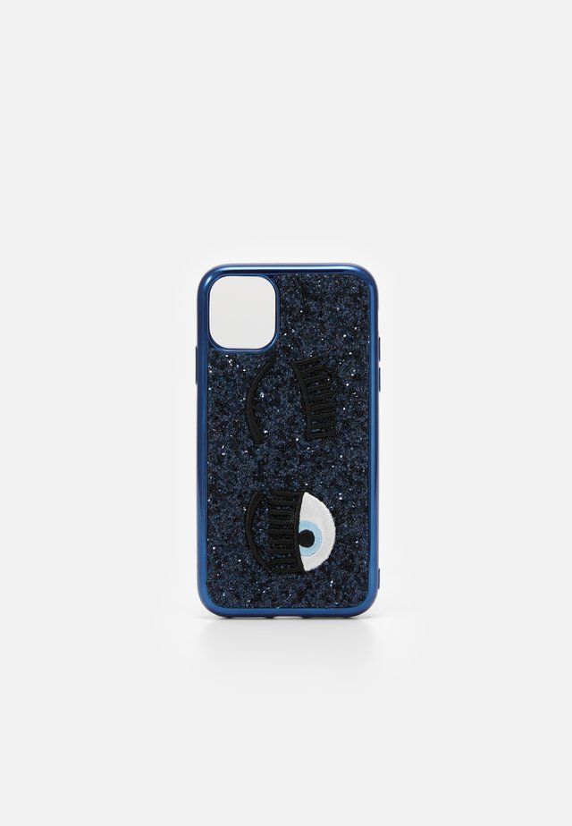 GLITTER FLIRTING CASE IPHONE 11 - Obal na telefon - navy