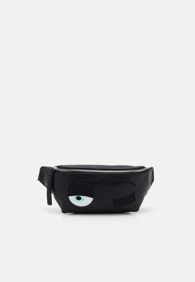 FLIRTING BELTBAG - Ledvinka - black
