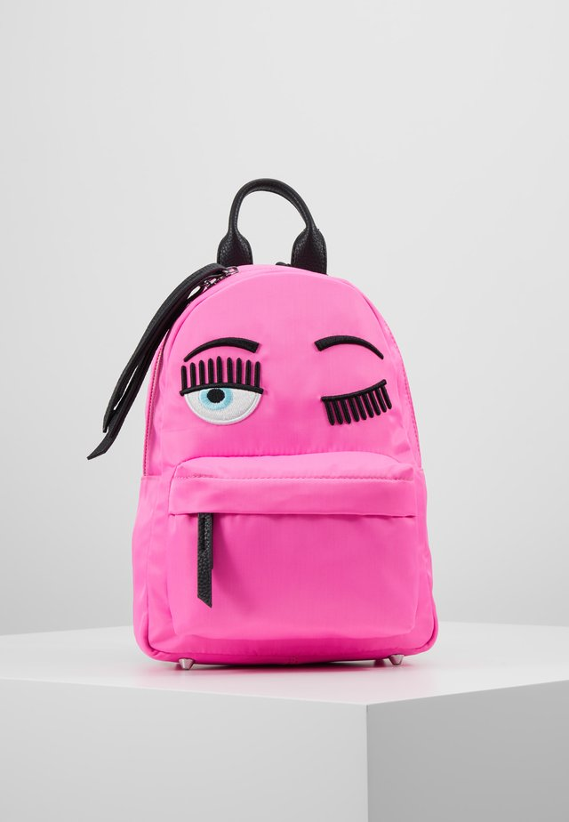 SMALL FLUO BACKPACK - Ryggsäck - pink