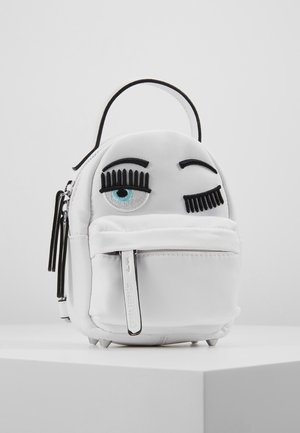 FLIRTING MINI BACK PACK - Batoh - white