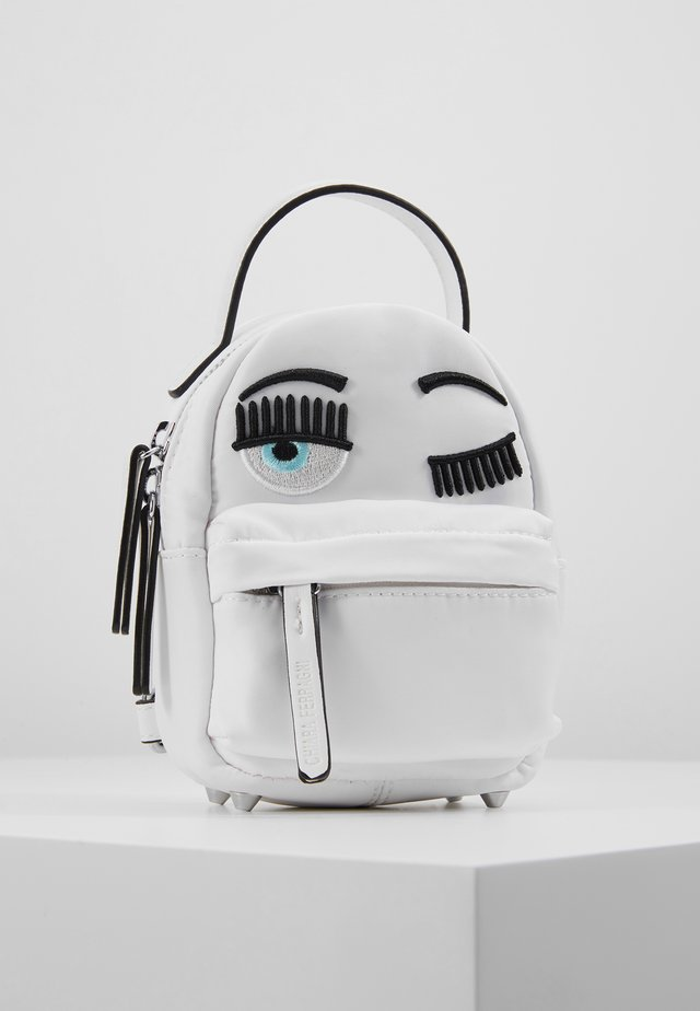 FLIRTING MINI BACK PACK - Reppu - white